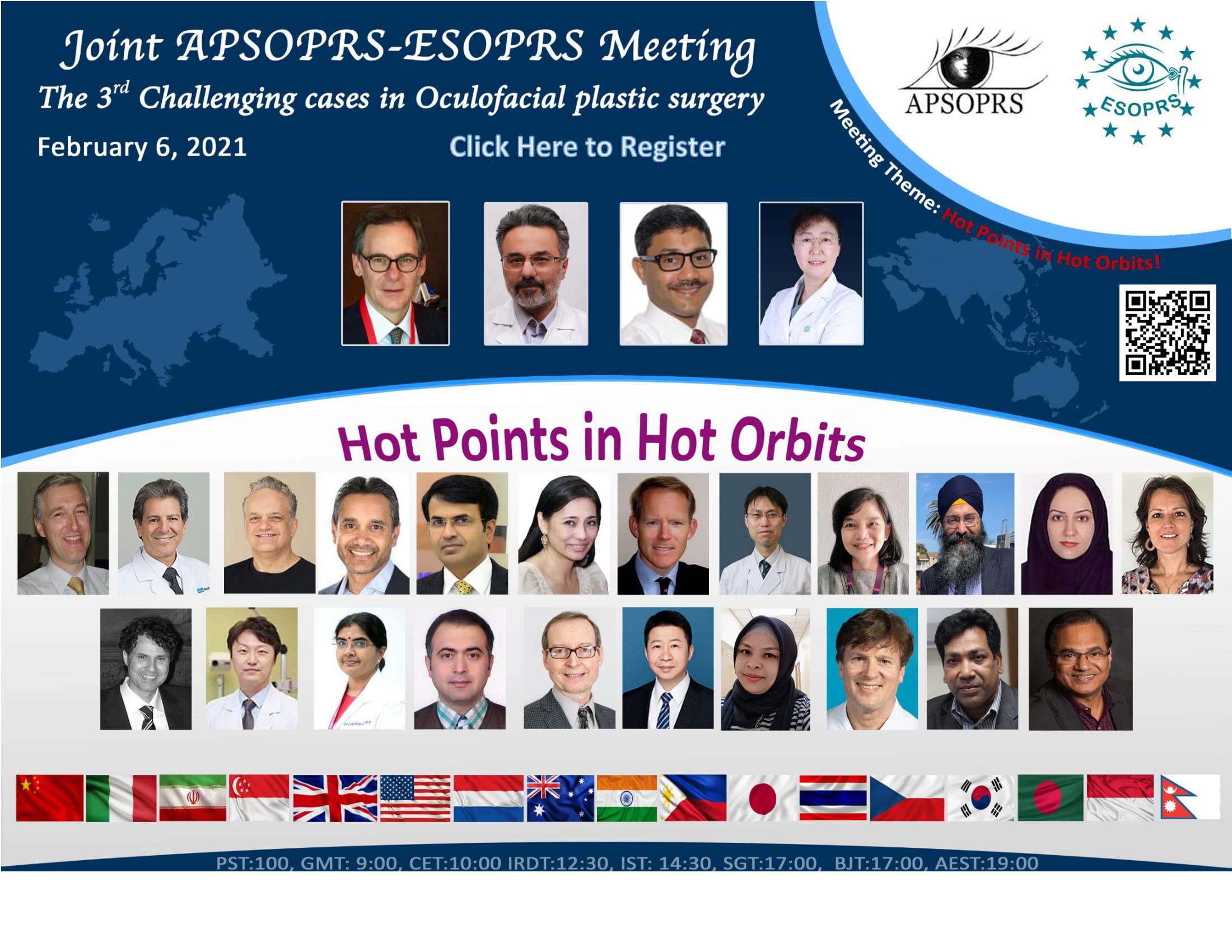 The 3rd Challenging cases in Oculofacial plastic surgery -A joint APSOPRS-ESOPRS joint meeting