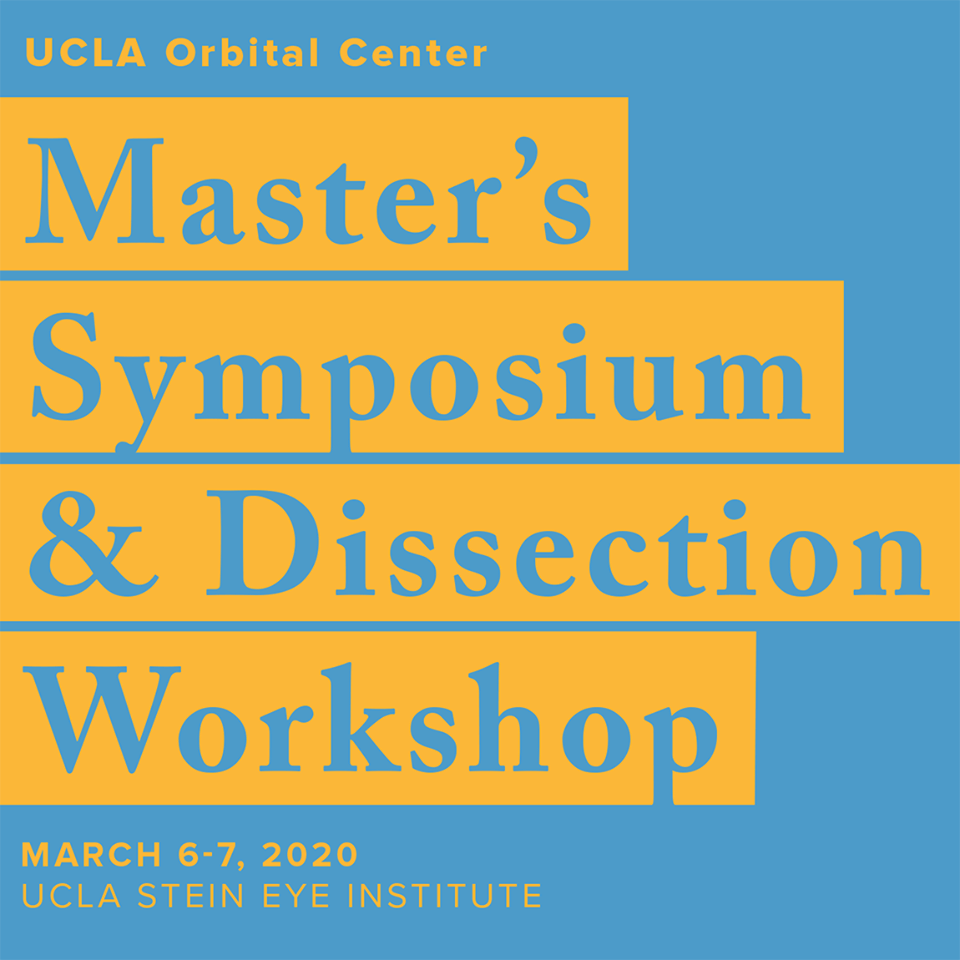 UCLA Master's Symposium & Dissection Workshop
