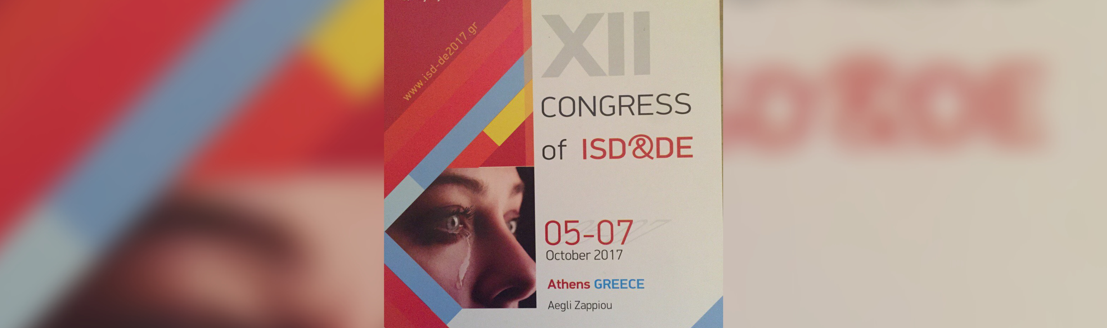 The 12th conference of International Society of Dacrylogy & Dry Eye