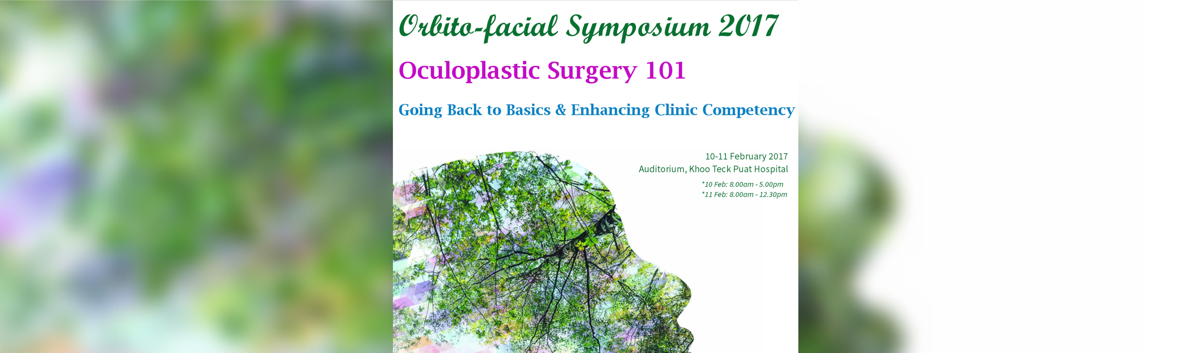 Orbito-facial Symposium 2017